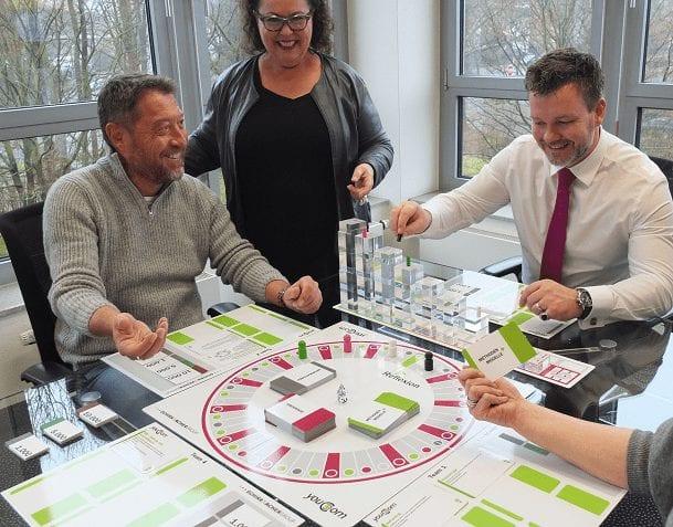 Planspiel zur Führungskräfteentwicklung
